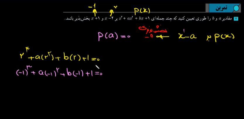 حسابان2-تابع-تمرین7-صفحه22