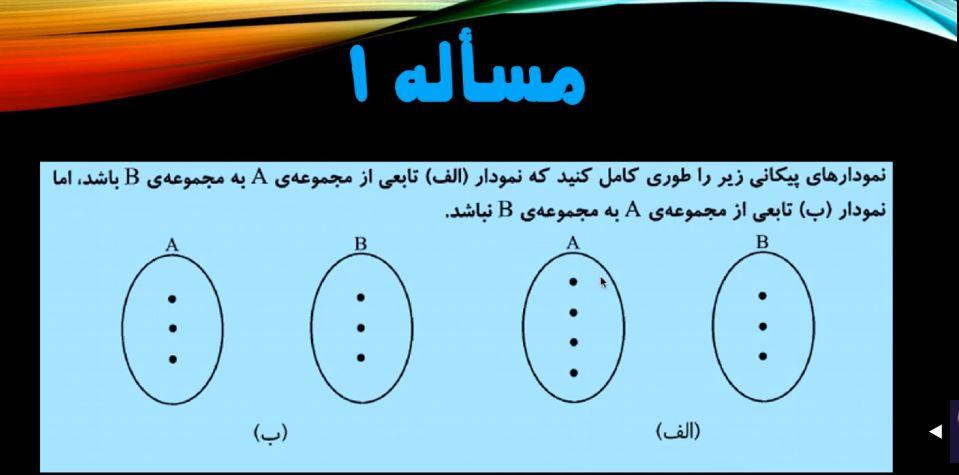 تابع-2-فصل۵-ریاضی-دهم-حل-چند-مثال-از-تعریف-تابع