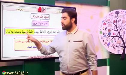 آموزش-درس-دوم-عربی-پایه-هشتم