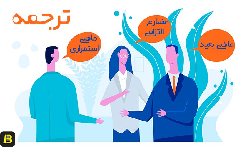 ترجمه-ماضی-بعید-ماضی-استمراری-مضارع-التزامی