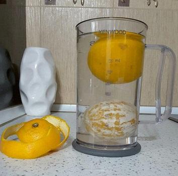 آزمایش چگالی پرتقال