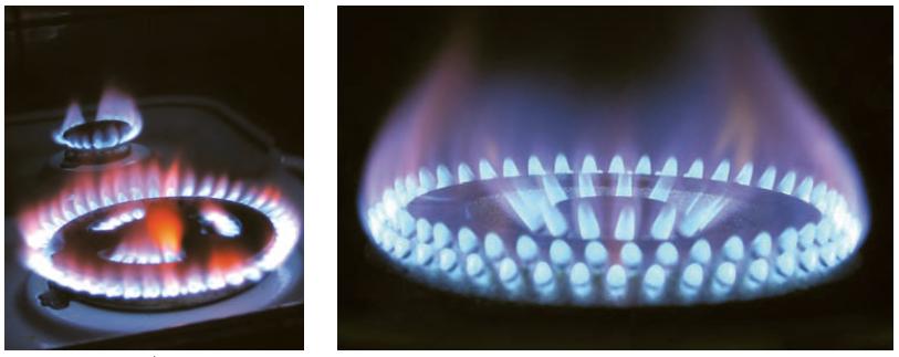 سوختن کامل - سوختن ناقص