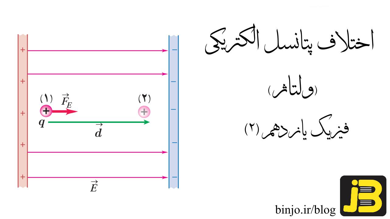 اختلاف پتانسیل الکتریکی یا ولتاژ