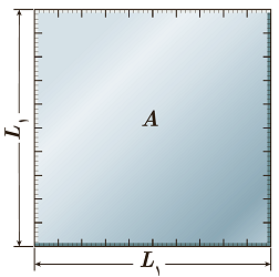 ورقه فلزی مربعی