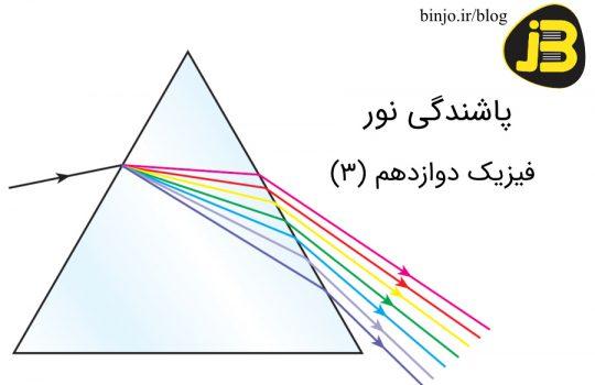 پاشندگی نور - فیزیک دوازدهم